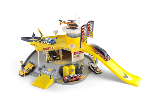 Norev Large Racing Garage Centre Playset + 1 Vehicle